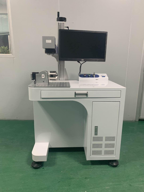 20W Stationary fiber laser marking machine